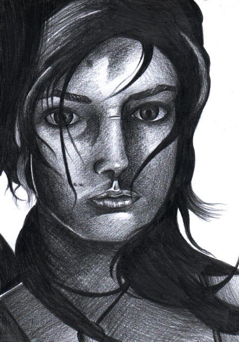 Lara Croft by artisticheather